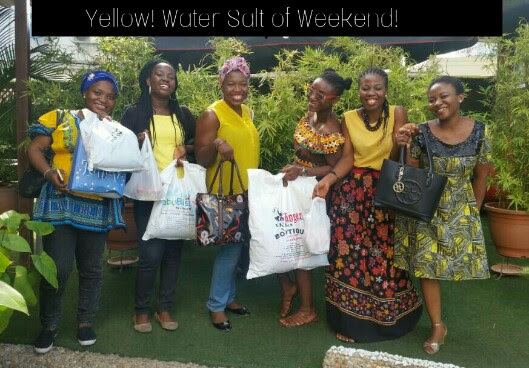 DIARY: Yellow! Water Salt Of Brown Weekend!