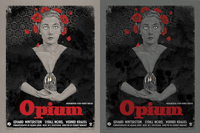 Opium Screen Print by Timothy Pittides x Grey Matter Art – Regular & Variant Editions
