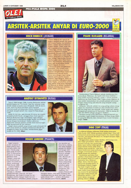 NEW MANAGER IN EURO 2000