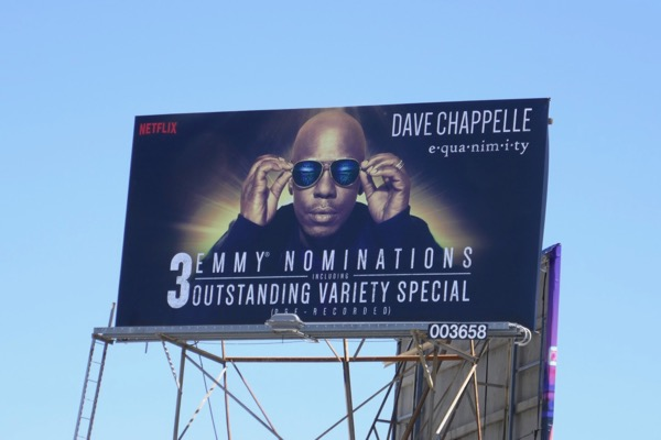 Dave Chappelle Equanimity Emmy nominee billboard