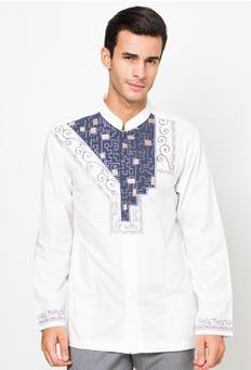 Contoh model baju koko muslim casual