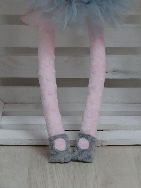 baletnica kotek róż maskotka 5