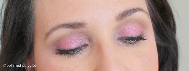 Pink makeup Look - Monday Shadow Challenge