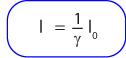 Rumus kontraksi Lorentz