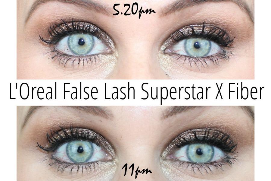 L Oreal False Lash Superstar X Fiber Mascara Review Photos Pink