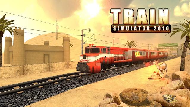 تحميل لعبة  Train Simulator 2016 v2.0 مهكرة للاندرويد