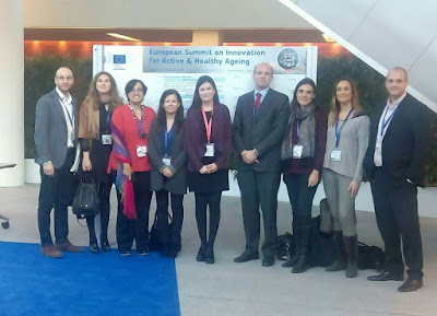 Montón recoge en Bruselas el galardón que reconoce a la Comunitat Valenciana como modelo europeo de envejecimiento activo y saludable