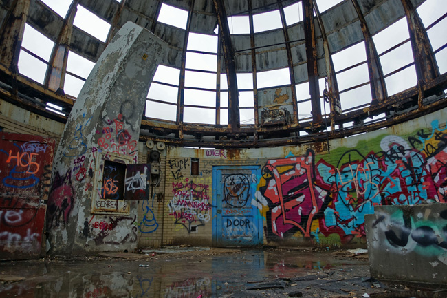Abandoned Observatory in East Cleveland Ohio