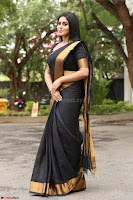 Poorna in Cute Backless Choli Saree Stunning Beauty at Avantika Movie platinum Disc Function ~  Exclusive 139.JPG