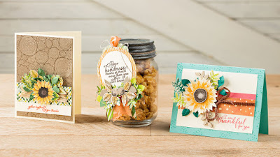 Stampin' Up! Painted Harvest Projects ~ 2017 Holiday Catalog