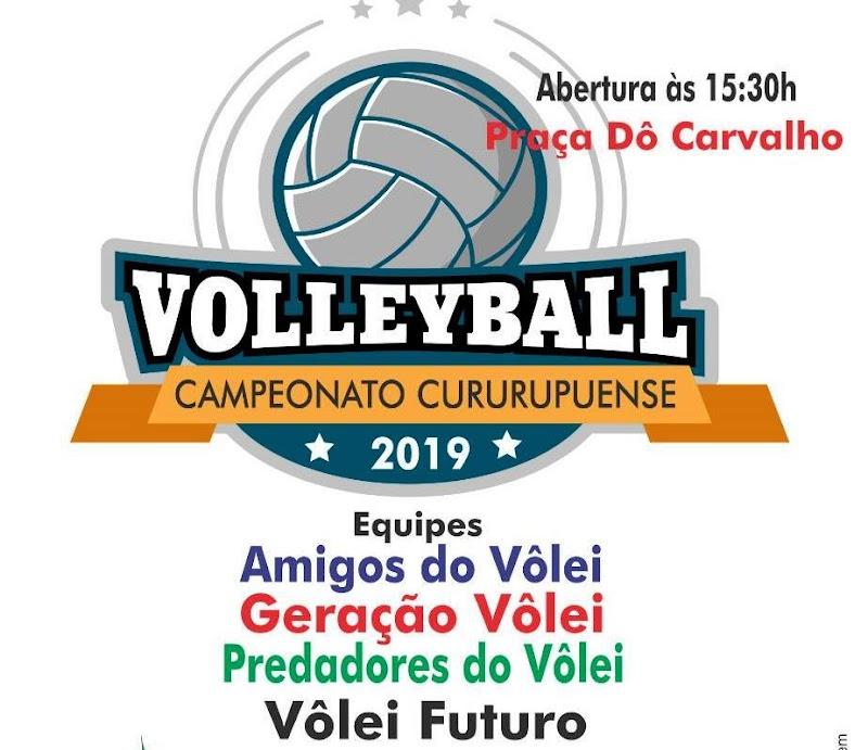 Com quatro times começa neste sábado o Campeonato Municipal de Voleibol 2019 em Cuururpu.