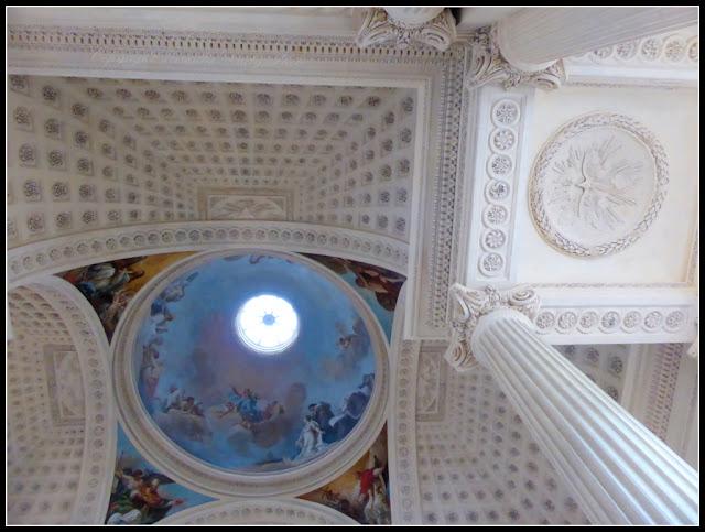 Chapelle Lycée Hoche Versailles Plafond