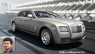 Vijay- Rolls Royce Phantom