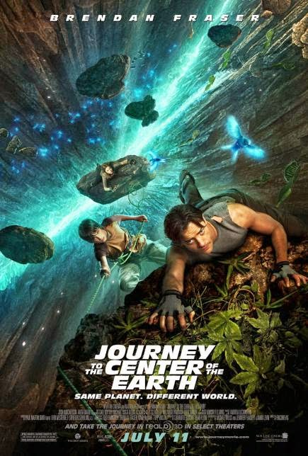 """""""Journey to the Center of the Earth (2008)"""" movie review by Glen Tripollo"""