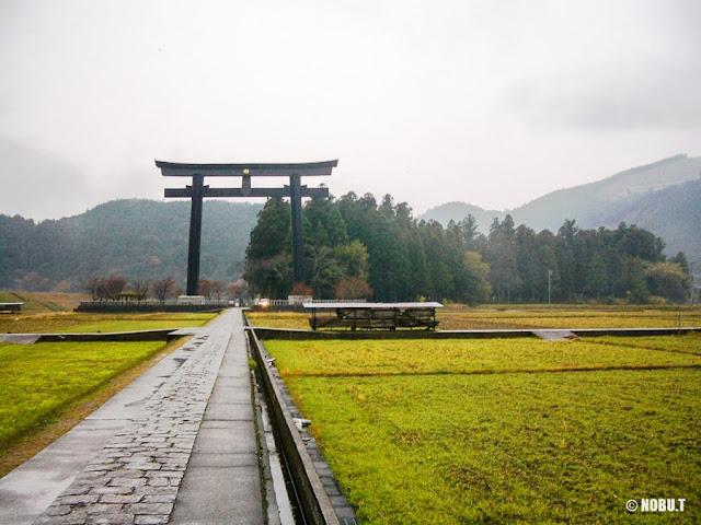 熊野本宮・旧社地「大斎原」の大鳥居
