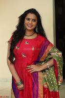 Manasa in Pink Salwar At Fashion Designer Son of Ladies Tailor Press Meet Pics ~  Exclusive 07.JPG
