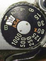 peengaturan asa kamera analog