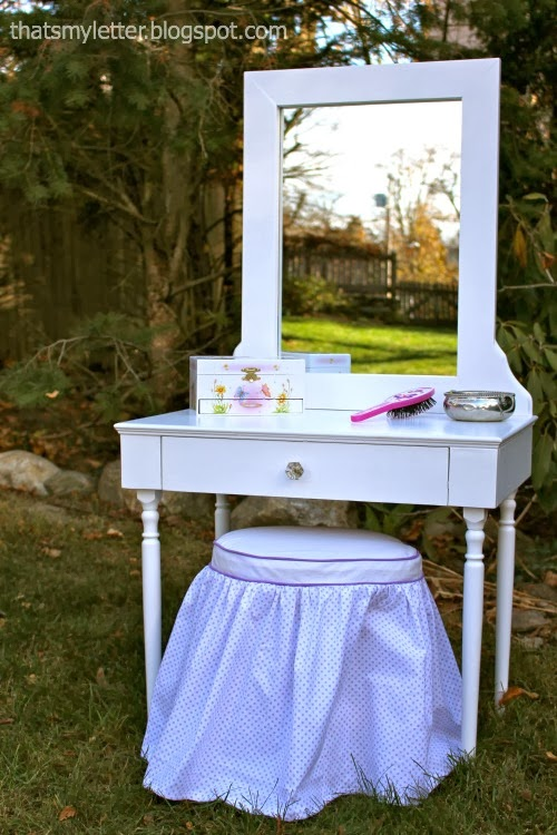 That S My Letter Diy Play Vanity
