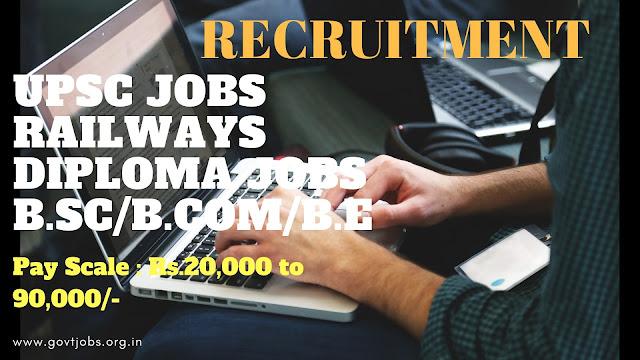 Recruitment News, Government Jobs, Sarakari Naukari,Employment News, upsc jobs, Railways Jobs