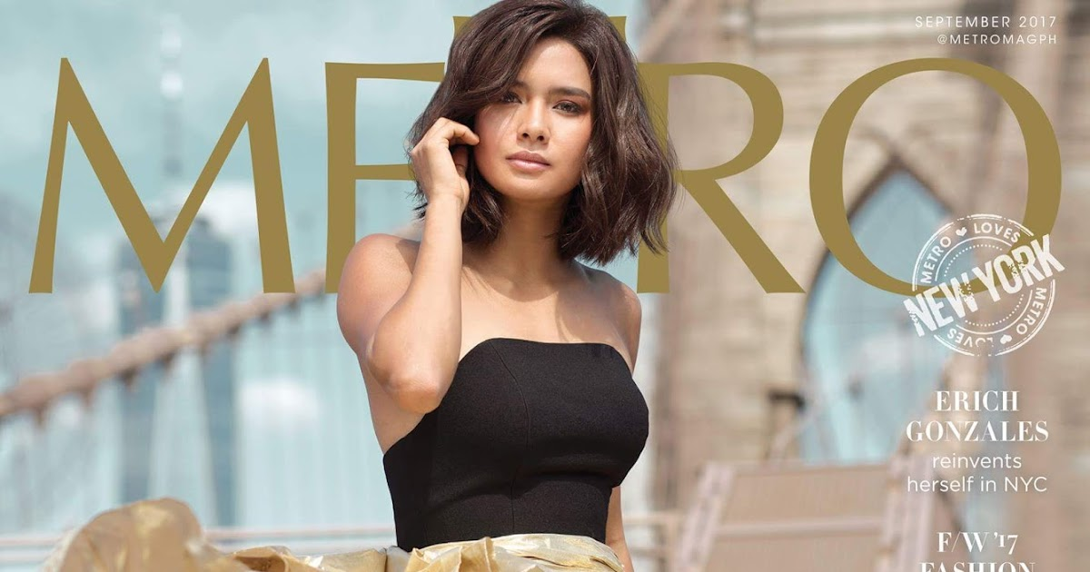Fashion Pulis Like Or Dislike Erich Gonzales On The Cover Of Metro