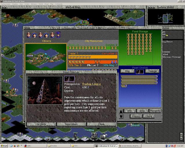 Civ 2 TOT Fantasy | Pearl Obelisk Screenshot