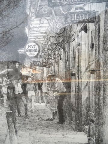 Finders Keepers 1987 Don Davey French Quarter Art Print 40