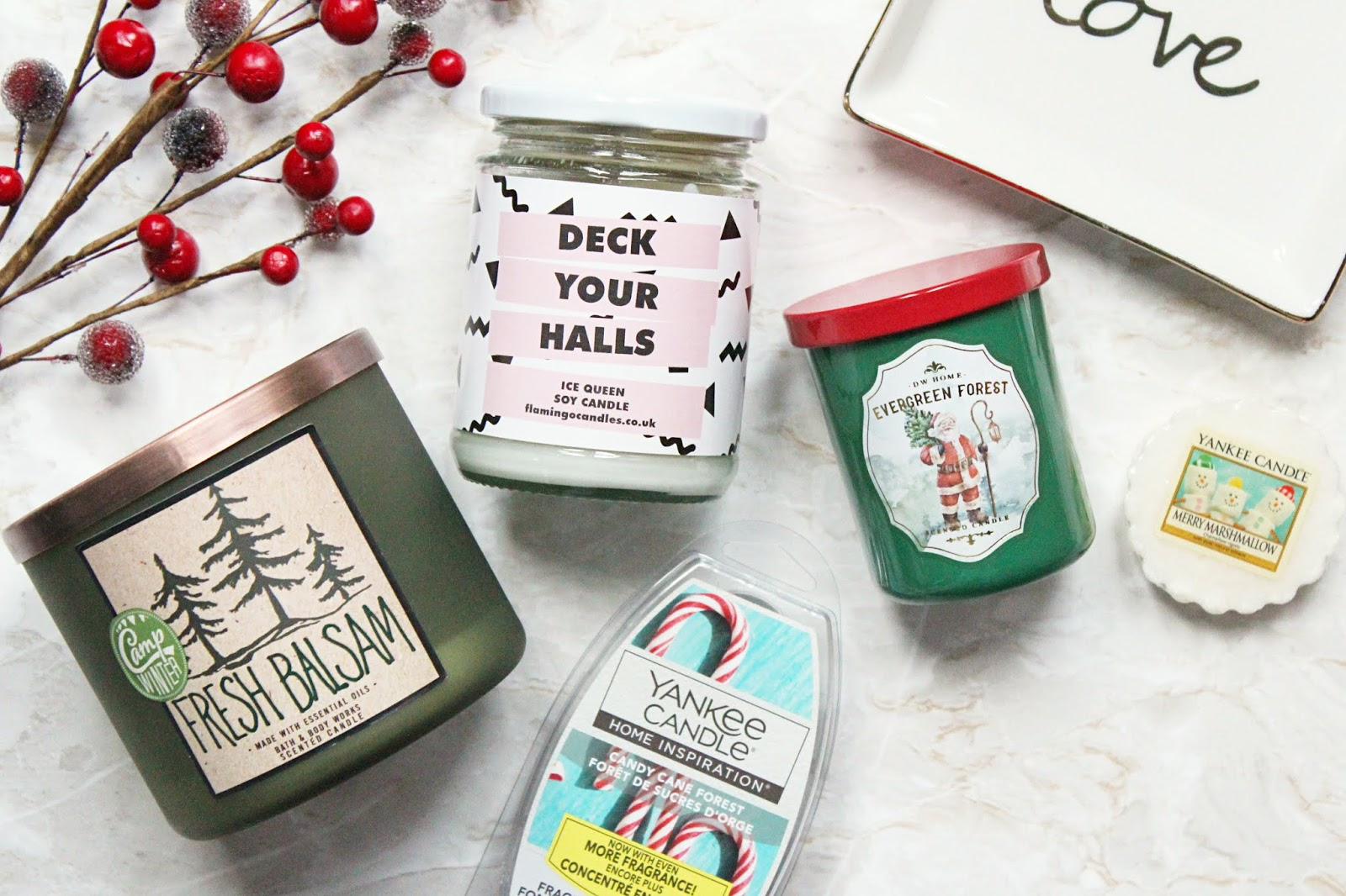 Christmas Candle Favourites