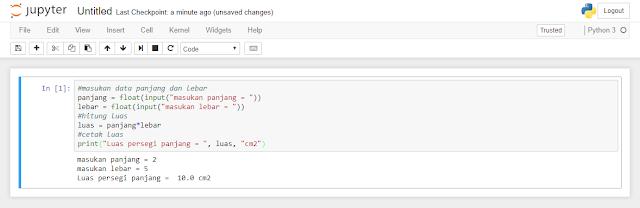Struktur Sequence atau berurutan Pada Pemrograman Python | Belajar Python Dasar