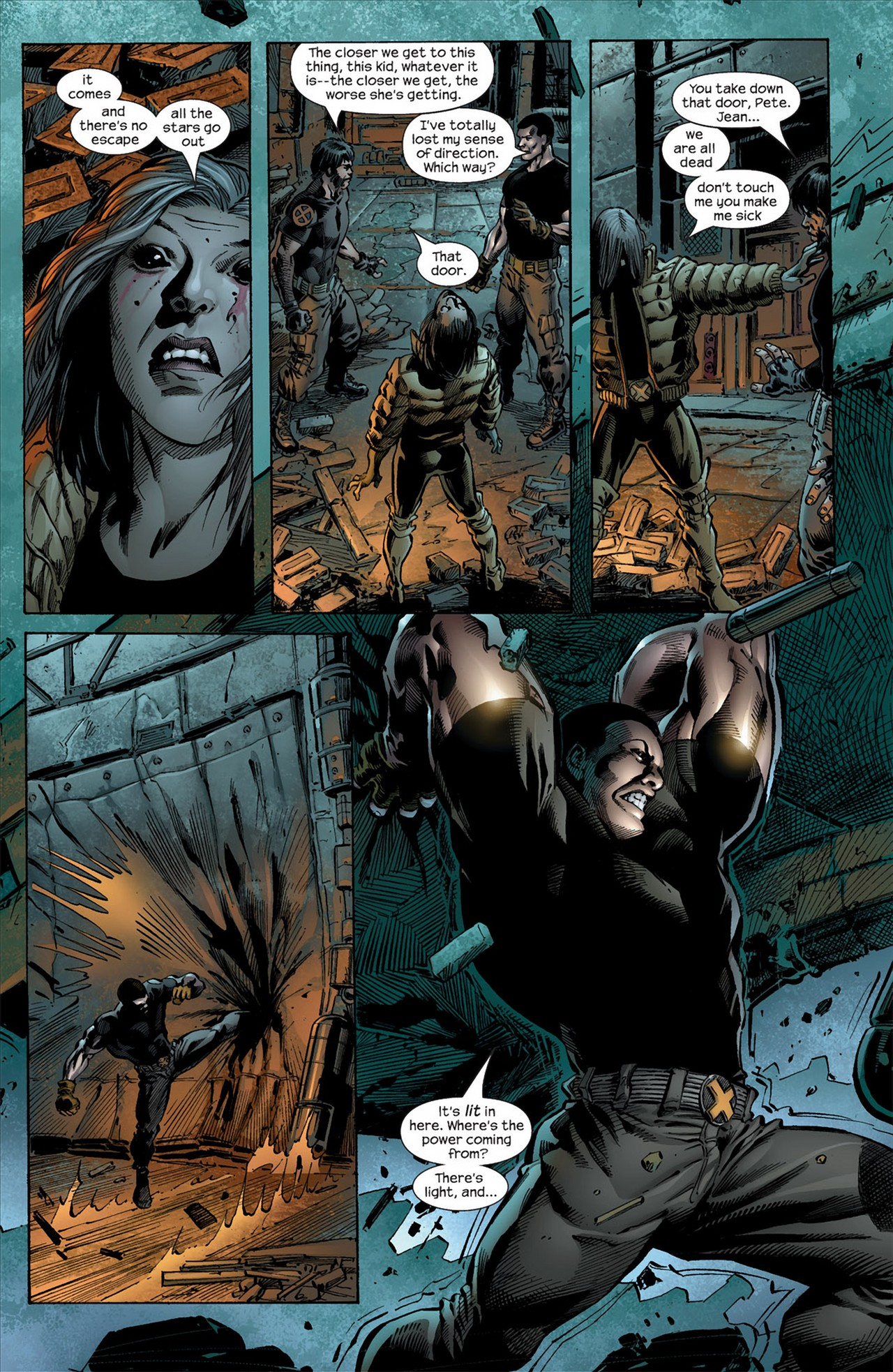 Read online Ultimate Nightmare comic -  Issue #4 - 22