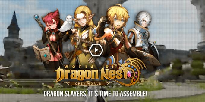 Akhirnya Rilis! Game MMORPG Open World Pertama, World of Dragon Nest (WOD)