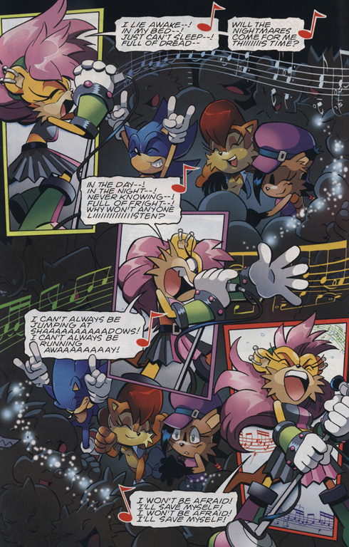Read online Sonic The Hedgehog comic -  Issue #221 - 10