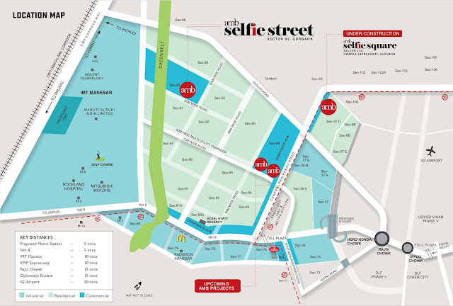 Location map - AMB Selfie Street