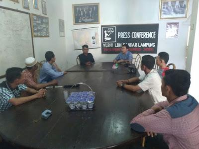Tim 12 Laporkan PT NTF ke LBH Bandar Lampung