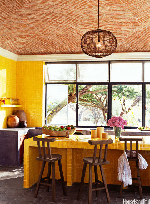 YELLOW TILE | Home Decor Bible