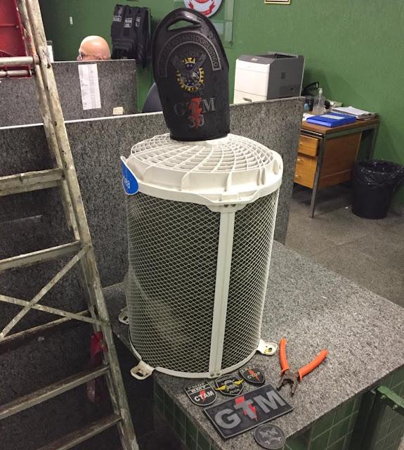 Homem é preso após furtar ar condicionado em centro de saúde na Ceilândia