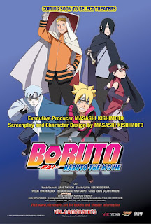 capa do dvd de Boruto Naruto the Movie em HD (Dublada Em Português Do Brasil)