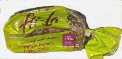 Hi Lo Bread low carb high protein seeded wholemeal