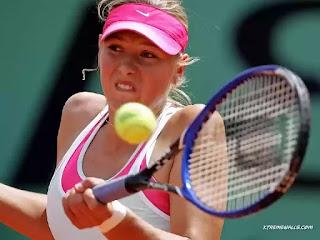 Maria Sharapova highest paid female tennis player