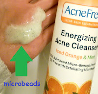 exfloiating microbeads are not being filtered out of clean water