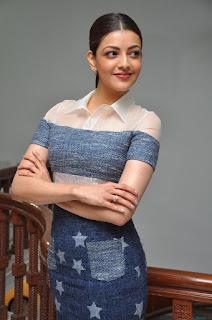 kajal agarwal khaidi no 150 interview stills