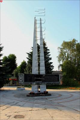 Пинск. Монумент Великой отечественной войне