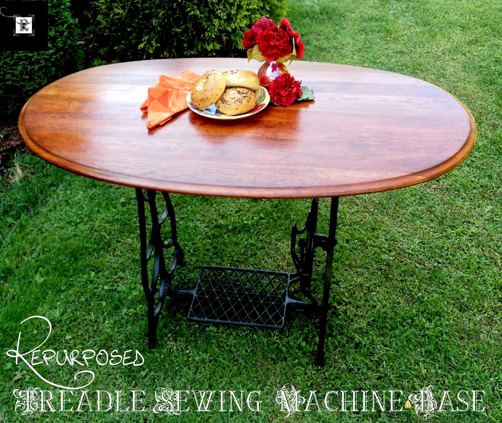 Vintage, Paint and more... Redo It Yourself Inspirations treadle sewing machine table