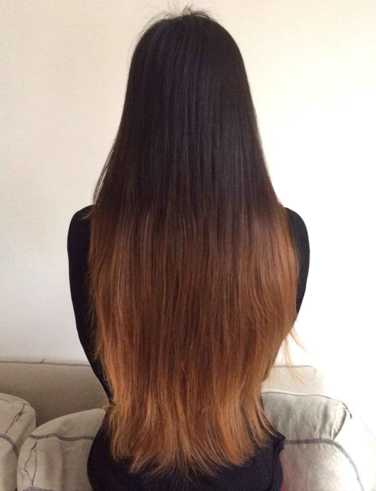 DIY: Cutting Layers & Ombre Hair with L'Oréal Féria ...
