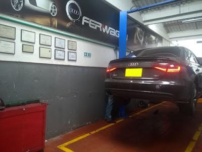 Servicio Tecnico Audi en Bogota