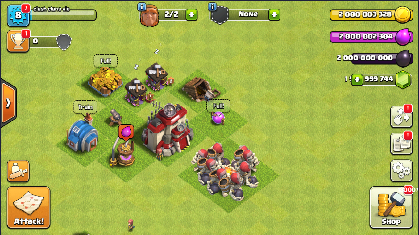 clash of clans unlimited gems game free download