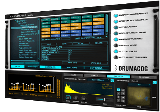 WaveMachine Labs Drumagog 5 Platinum v5.21 Full version