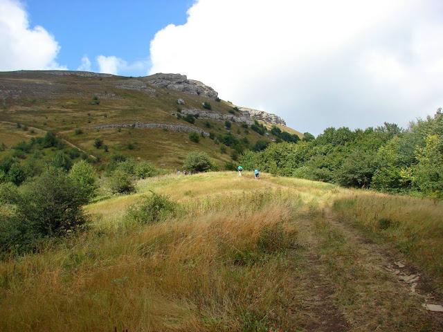 Дорога к горе «1278»