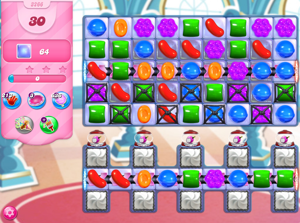 Candy Crush Saga level 3266