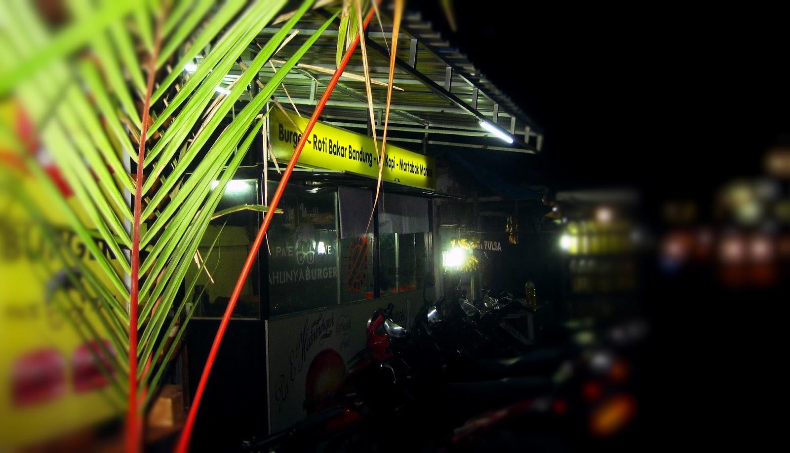 Burger Pa'e, Arena Chef Legend di Tanjung Morawa
