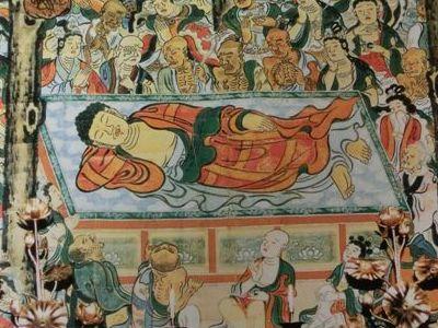 泉涌寺の大涅槃図